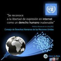 La ONU reconoce por primera vez el derecho a la libertad de expresión en Internet (Se adjunta resolución en .pdf)