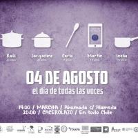Sábado 4 de agosto - Día de todas las voces. A un año del histórico cacerolazo ... (+vídeo)